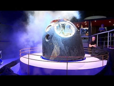 Ruimteschip Kuipers landt in Noordwijk