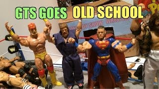 GTS WRESTLING: Flashback Attack! WWE Mattel Elite action figure matches animation