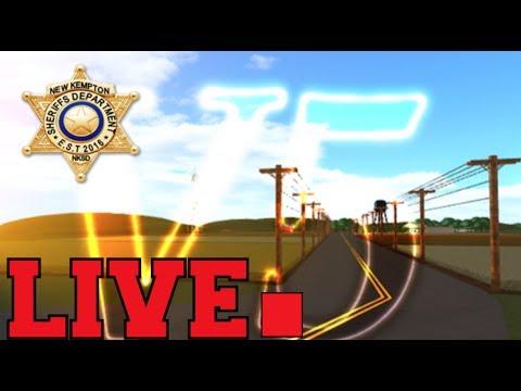 New Kempton V5 Patrolling As A Sheriff Live - roblox new kempton rcmp youtube