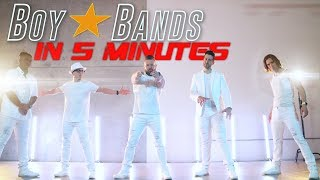 BOY BANDS IN 5 MINUTES | VoicePlay A Cappella Medley