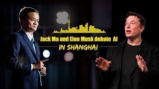 Live: Jack Ma and Elon Musk's AI debate in Shanghai