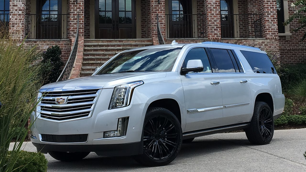 Most Expensive Escalade Esv Platinum In The World 104 000 Youtube
