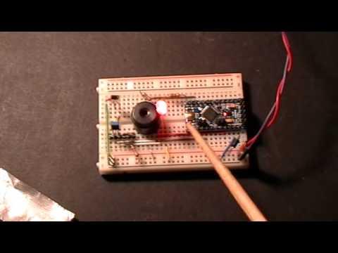 Arduino: IR Photodetector System Test 1