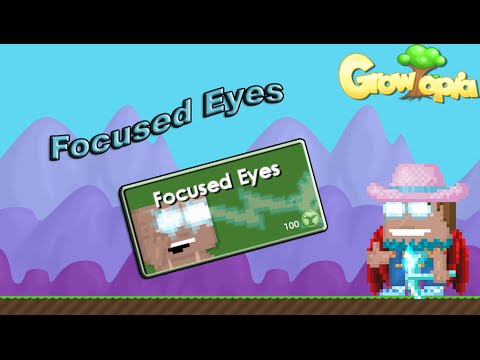 Growtopia - Purchasing Focused Eyes! - YouTube