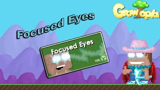 Growtopia - Purchasing Focused Eyes!