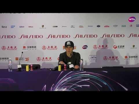 Elina Svitolina Press Conference   2019 WTA Finals