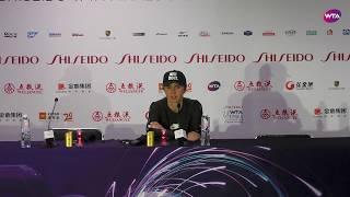 Elina Svitolina Press Conference | 2019 WTA Finals Video