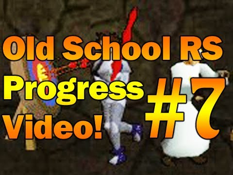 Old School RuneScape 2007 Progress Video Episode 7! BACK from 2 days at the beach! :P