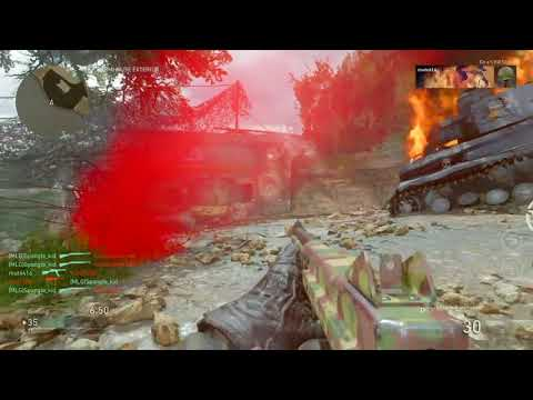 """COD WWII PS4 Multiplayer """"I Love The Corp"""" ZX65 Kicking Ass!!"""