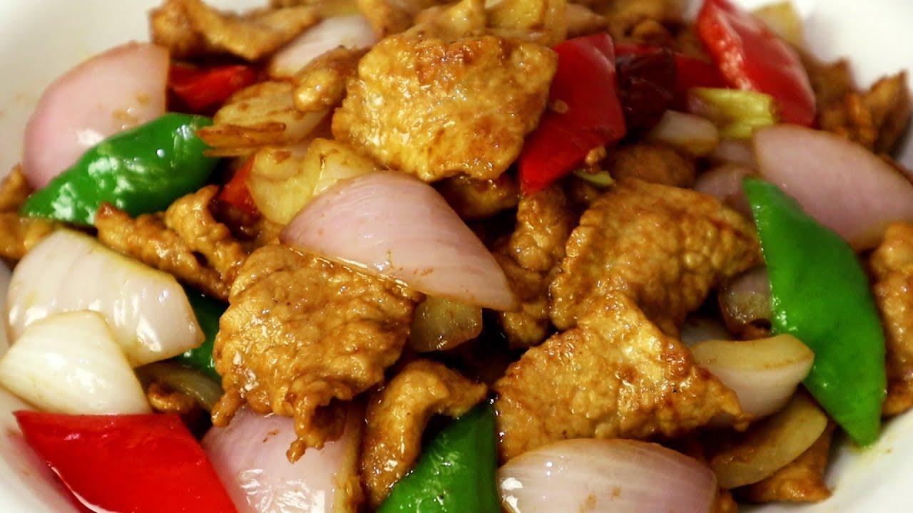 洋葱炒肉是先炒洋葱还是先炒肉,很多人做错了,看饭店大厨怎么做