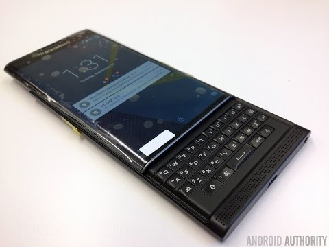 BlackBerry Venice Priv quick look!