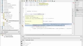 Module 16.4: Demonstration of Creating a SOAP Message