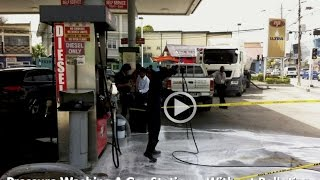 DE-OIL-IT - Pressure Washing A Gas Station