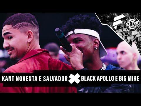 NOVENTA, KANT E SALVADOR X BLACK, APOLLO E BIG MIKE | BDA 3 ANOS | SEMIFINAL