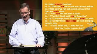 """Moving Forward: """"Peter Defends God"""""""