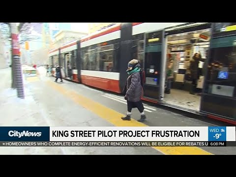 City data shows King Street Transit Pilot working well, but frustration remains
