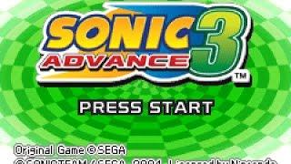Sonic Advance 3 playthrough ~Longplay~