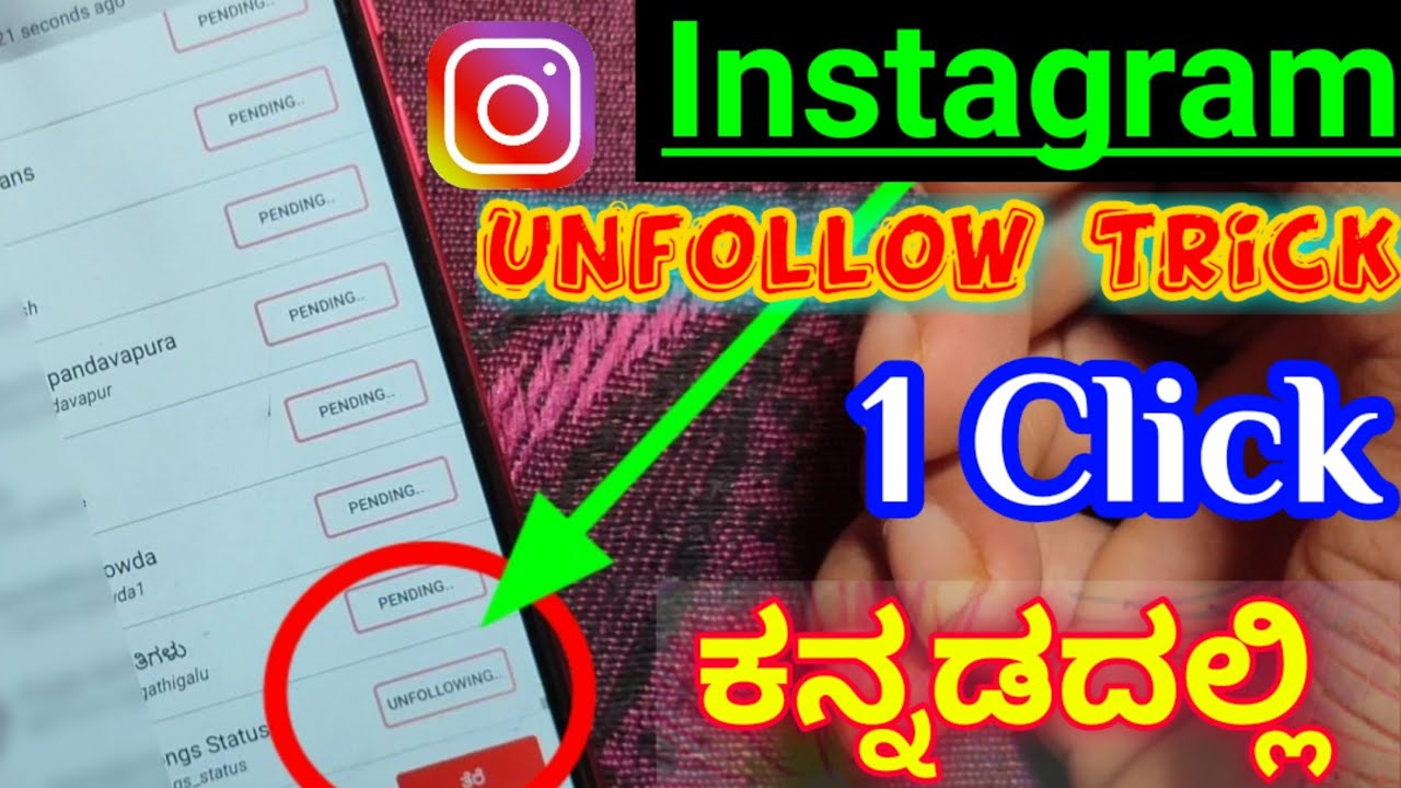 How to unfollow Everyone on Instagram at once | Best Unfollow App For Instagram in 2020