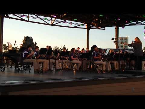 Emma Sansom Middle School Band May 16, 2014 at Downtown Disney Part 3 of 4