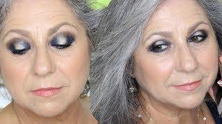 CENA DE VERANO EN AZUL  //  Makeupmasde40