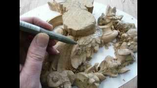 WOODCARVING : Rococo Appliqué in Oak | Rokoko Ornamenten