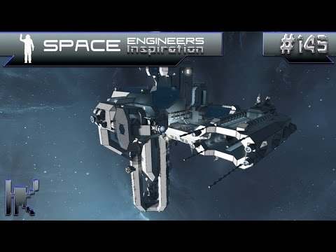 Space Engineers Inspiration - Episode 145: Mall-E, Space Cruiser HIMEKAMI, Space Garden Jagow