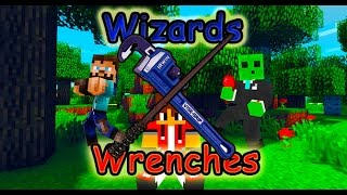 Minecraft| Wizards and Wrenches 2| Ep.12| Preparing for the End (Flux Capacitor 1.21 Giggawatts)