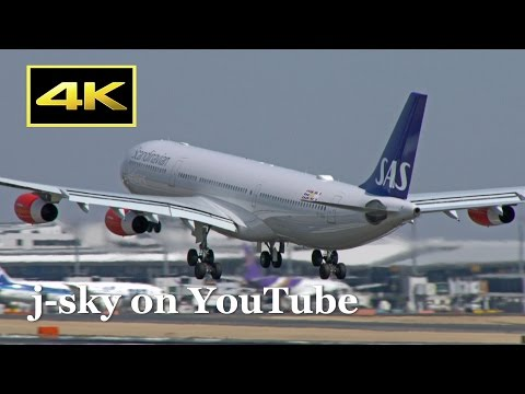 [4K] 2017 Spring - 30 Minutes Plane Spotting at Narita International Airport / 成田国際空港