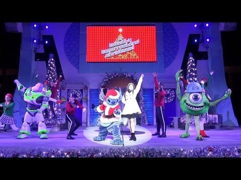 A Totally Tomorrowland Christmas Full Show 2016 with Stitch, Buzz Lightyear & Mike Wazowski