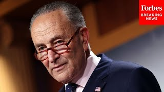 JUST IN: Schumer Responds To Senate Parliamentarian Ruling Immigration Plan Can't Be In Budget