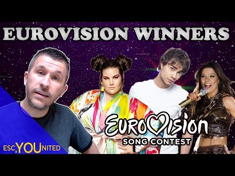 All winners of the Eurovision Song Contest 19562018  REACTION