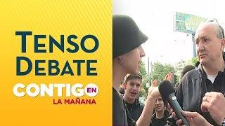 Padres y alumnos vivieron tenso debate por rendición de PSU 2019 -  Contigo en La Mañana