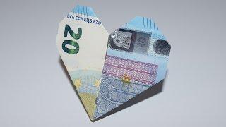 Origami Heart Box (Tutorial) - YouTube | 180x320
