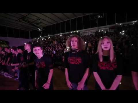 Red Mountain High School Making of MTN LION KING Homecoming Assembly 2019