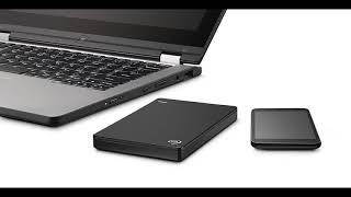 Seagate Backup Plus Slim 2TB Portable External Hard Drive USB 3 0, Black STDR20