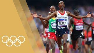 Mo Farah [GBR] - Men's 10,000m & 5,000m | Champions of 2012