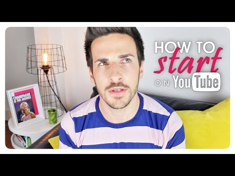 HOW TO START ON YOUTUBE • Starter kit: motivation, basic equipment and content strategy