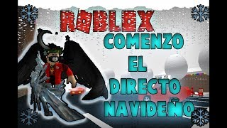 direct 🔴 Merry Christmas JUGANDOR ROBLOX+SORTEO of a CUENTA+SORTEO #TEAMGAMERS ROBUX / / Road3, 900K🔴