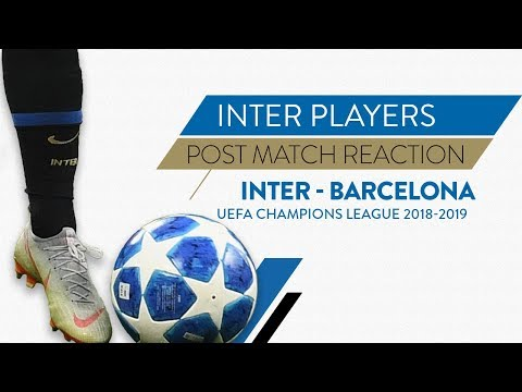 INTER 1-1 BARCELONA | Icardi: 'We did well not to give up' | Post match reaction