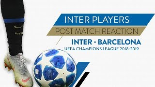 "INTER 1-1 BARCELONA | Icardi: ""We did well not to give up"" 