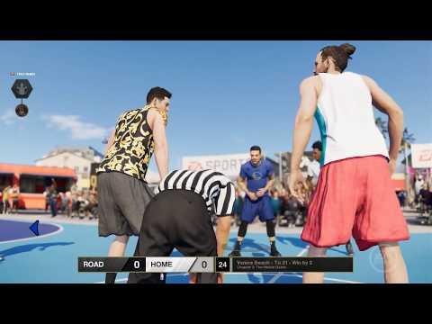 NBA Live 18 DEMO: 'The One' Mode - Venice Beach Gameplay