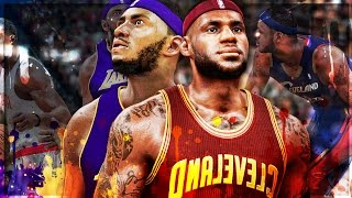 THROWBACK LEBRON JAMES CHALLENGE   KING JAMES LEGENDARY TRIPLE DOUBLE   NBA 2k17 MyCareer