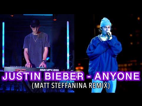 """Justin Bieber - """"ANYONE"""" (Matt Steffanina Remix)"""