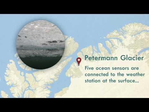 Petermann Glacier ocean sensors