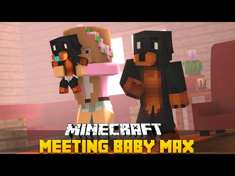 Minecraft - Donut the Dog Adventures -BABY MAX MEETS LITTLE KELLY!!