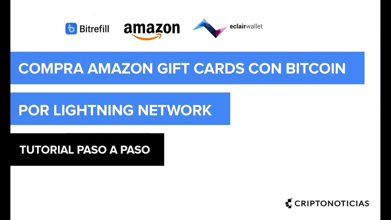 Acquista Carte Regalo Amazon Con Bitcoin - CryptoRefills