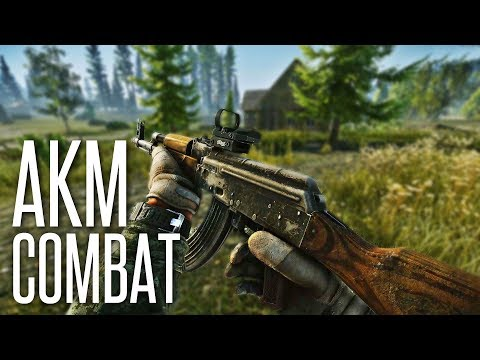 HARDCORE AKM COMBAT - Escape From Tarkov