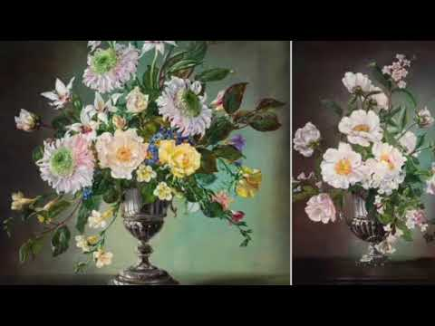 Cecil Kennedy - A great English flower painter.