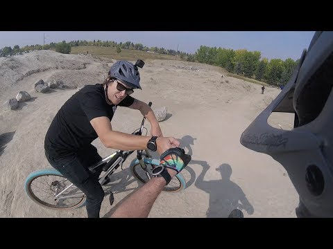 Fish Creek Pump Track With Reilly