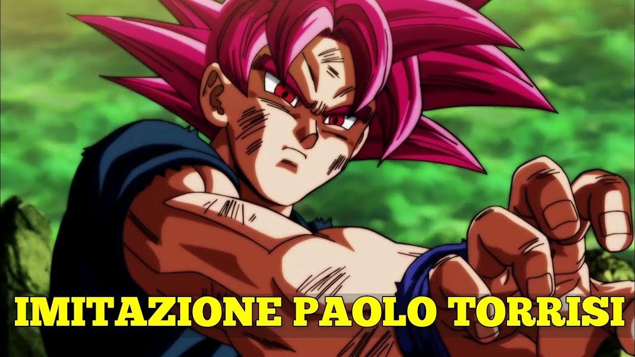 UN RAGAZZO DOPPIA GOKU IMITANDO PAOLO TORRISI!! INCREDIBILE!!!
